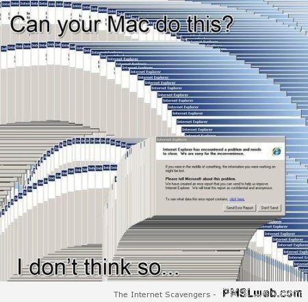 Can Mac do this funny at PMSLweb.com