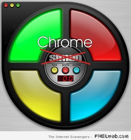 Simon is Chrome funny – Thursday LOL at PMSLweb.com