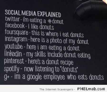 Social media explained humor – Computer era funnies at PMSLweb.com