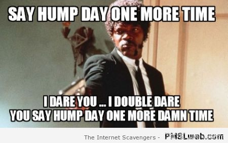 Say hump day one more time meme at PMSLweb.com