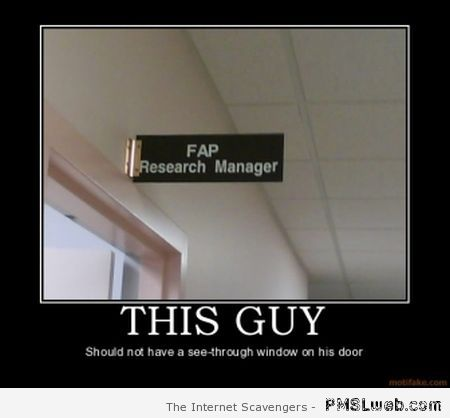 Fap research manager at PMSLweb.com