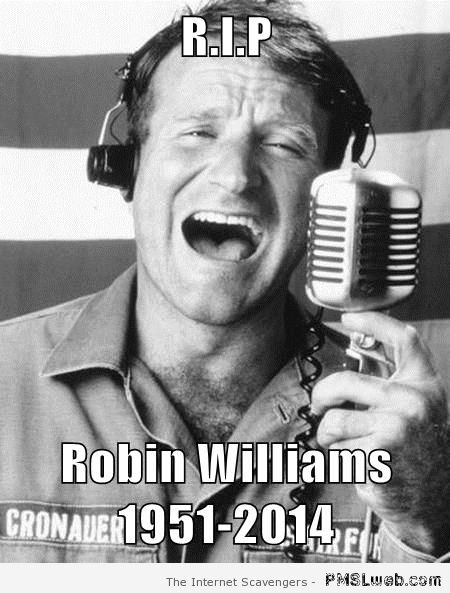 RIP Robin Williams at PMSLweb.com