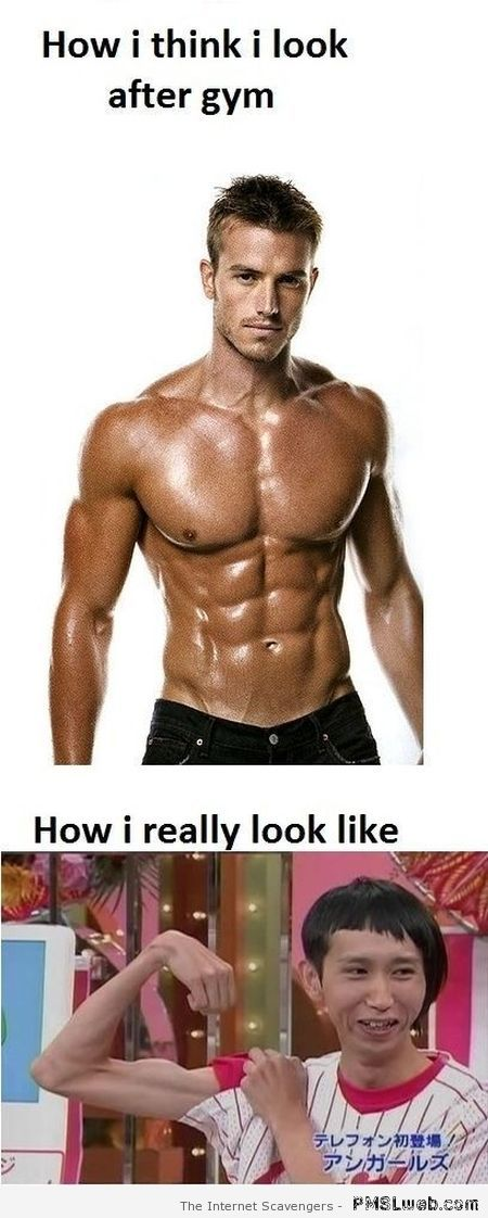How I think I look after gym – Weekend lol at PMSLweb.com
