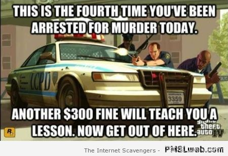 Funny GTA murder logic at PMSLweb.com