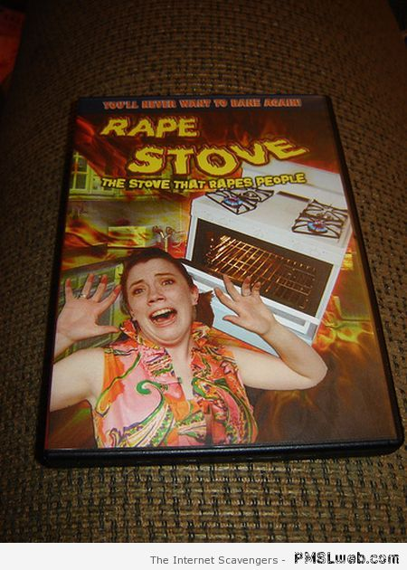 Rape stove DVD at PMSLweb.com