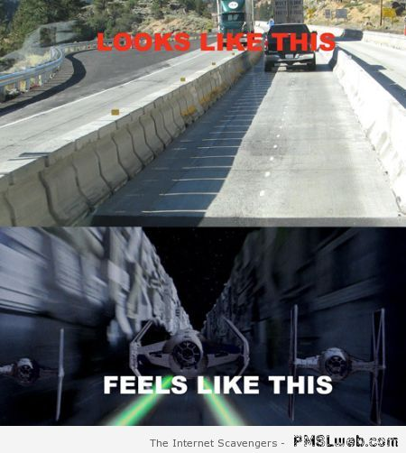 Star Wars road meme – Star Wars funnies at PMSLweb.com