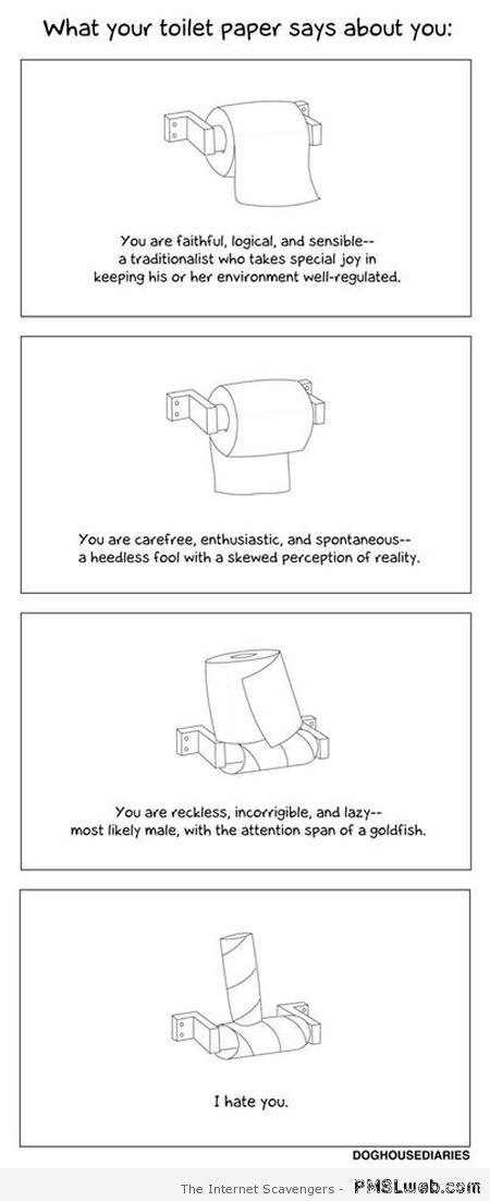What your toilet paper says about you – Foolish Monday at PMSLweb.com