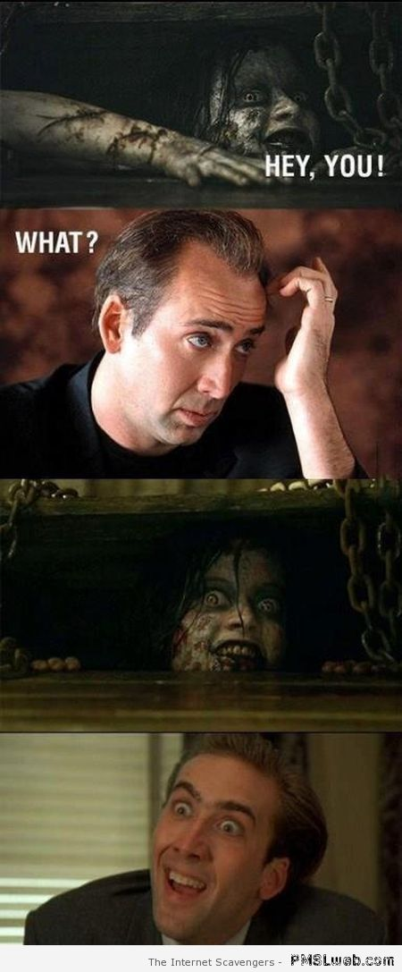 Funny Nicolas Cage and Evil Dead at PMSLweb.com