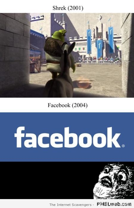 Shrek and Facebook coincidence I think not at PMSLweb.com