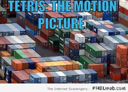 Tetris motion picture meme – Hilarious Thursday at PMSLweb.com
