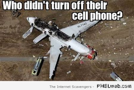 Who didn't turn off their cellphone meme at PMSLweb.com