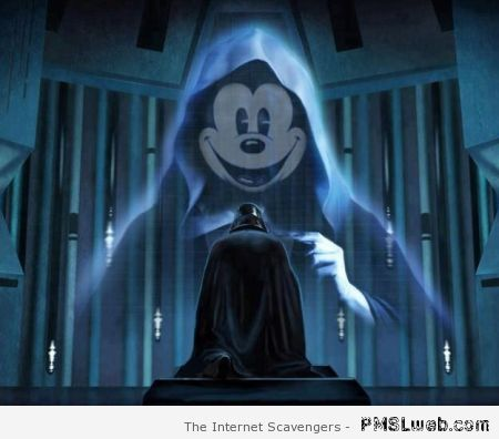 Mickey Mouse and Darth Vader humor at PMSLweb.com