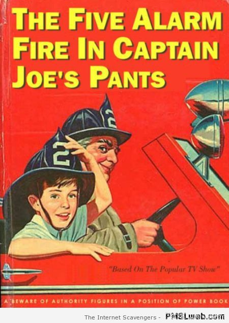 Funny Fireman book for children at PMSLweb.com