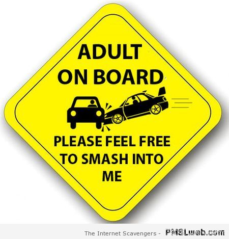 Adult on board sign at PMSLweb.com
