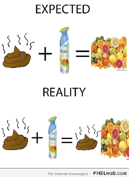Funny Febreze reality at PMSLweb.com
