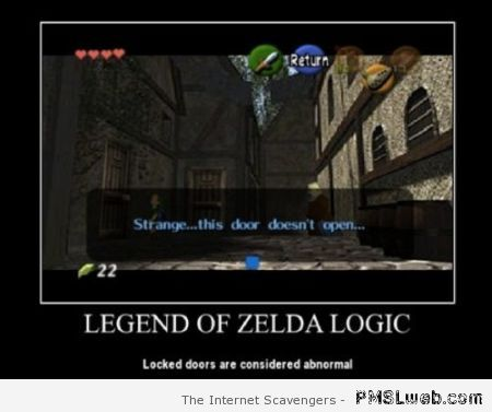 Legend of Zelda logic at PMSLweb.com