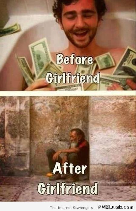 Funny before girlfriend vs after girlfriend at PMSLweb.com