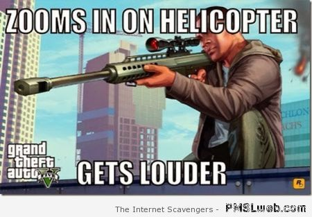 GTA zoom logic meme at PMSLweb.com