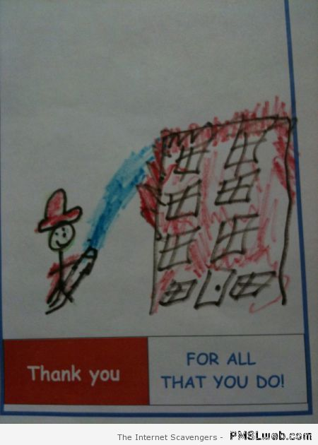 Funny kid's drawing fail – Hump day nonsense at PMSLweb.com