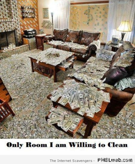 Only room I am willing to clean at PMSLweb.com