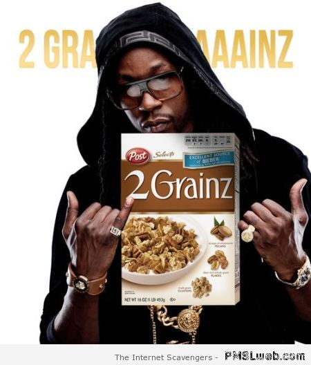 Funny rappers cereal 2 grainz at PMSLweb.com