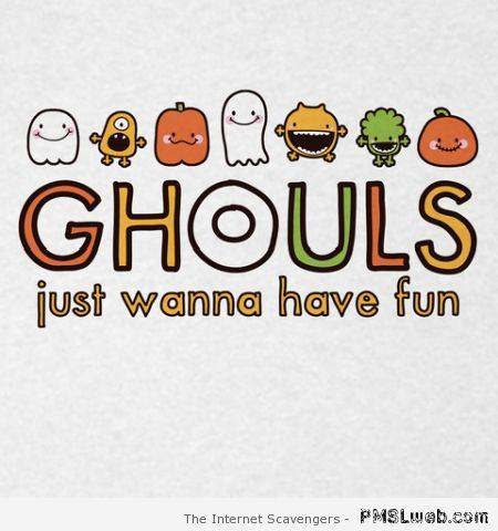 Ghouls just wanna have fun – Halloween funnies at PMSLweb.com