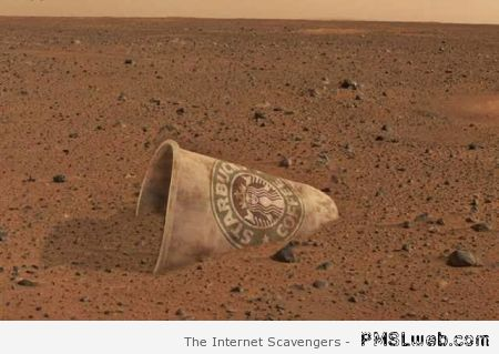 Starbucks on Mars