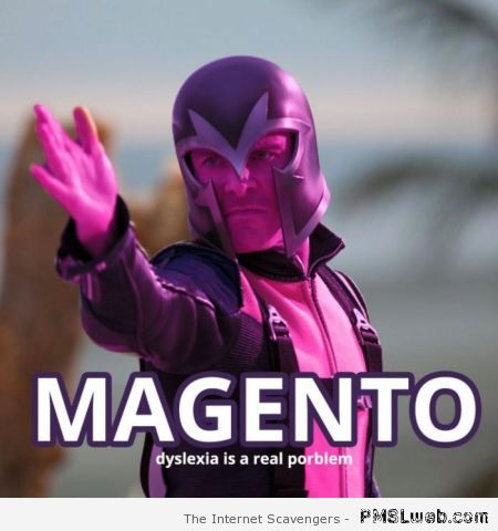 Magneto humor – Fun pics at PMSLweb.com