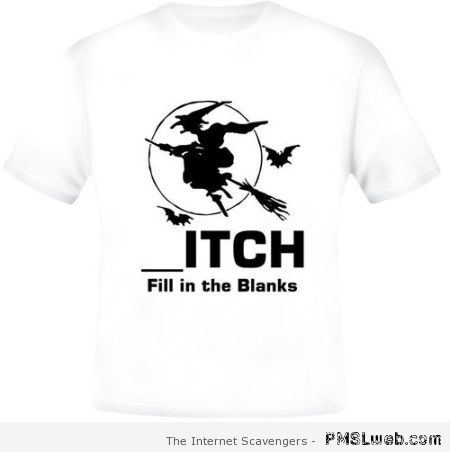 Fill in the blanks t-shirt at PMSLweb.com