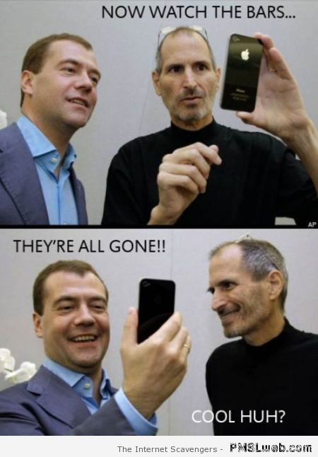 iPhone bars humor – Monday madness at PMSLweb.com