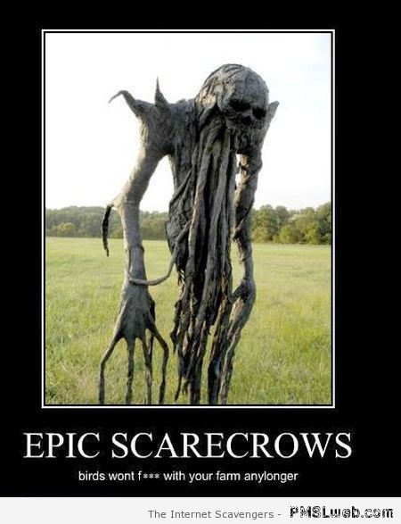 Epic scarecrow at PMSLweb.com