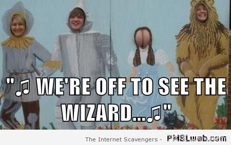 We're off to see the wizard meme – LOL pics at PMSLweb.com