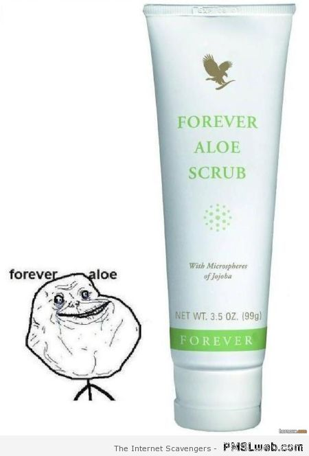 Forever alone cream at PMSLweb.com