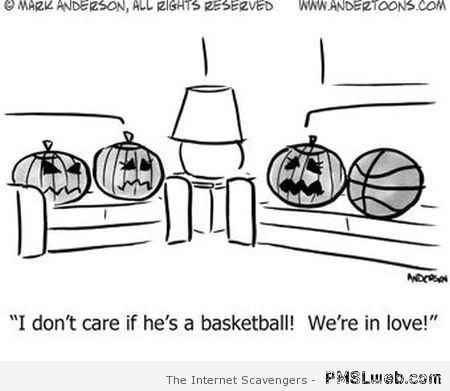 We're in love pumpkin humor – Halloween funnies at PMSLweb.com