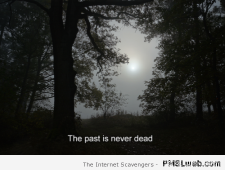 The past is never dead at PMSLweb.com