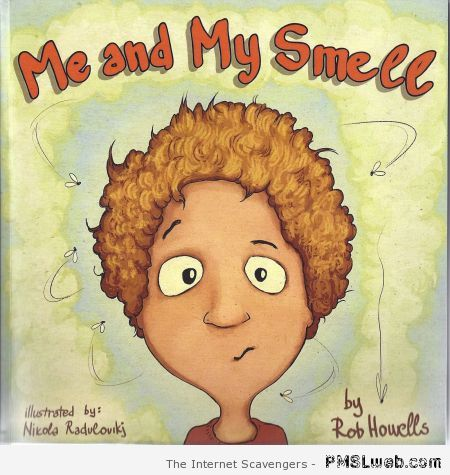 Me and my smell funny book at PMSLweb.com