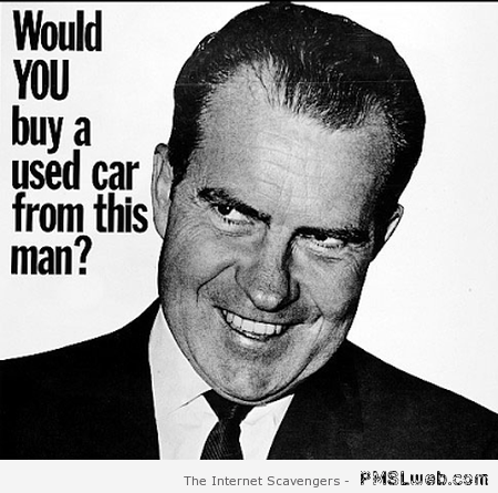 Would you buy a used car from this man – Crazy Tuesday at PMSLweb.com