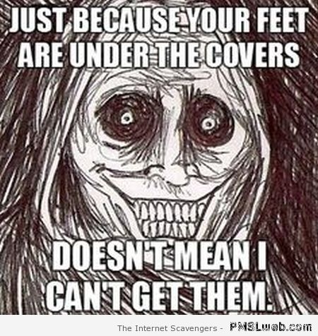 Creepy Halloween meme at PMSLweb.com