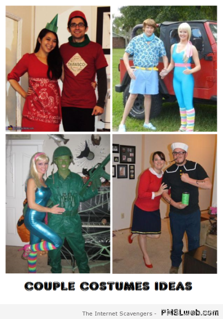 Couple costumes ideas at PMSLweb.com