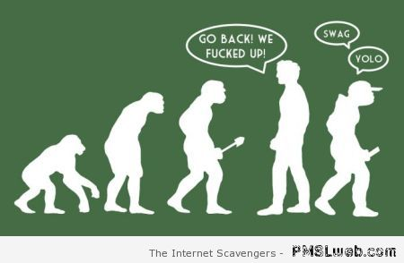 Funny swag evolution at PMSLweb.com