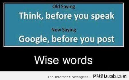 Google it before you post quote at PMSLweb.com