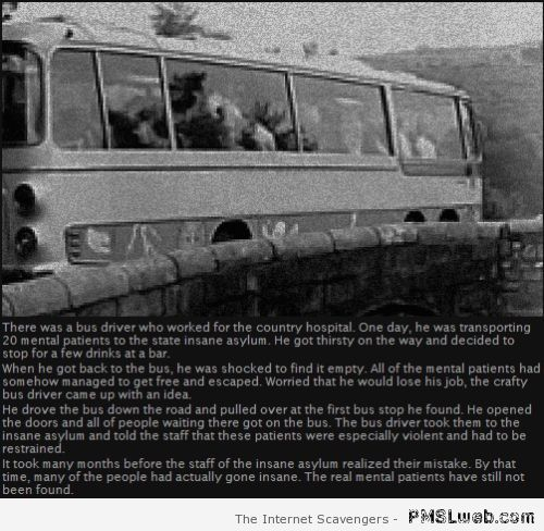 Mental patients bus story at PMSLweb.com