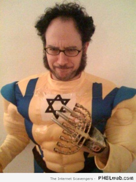 Jewish super hero costume fail –Halloween funnies at PMSLweb.com