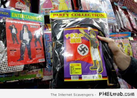 Hitler costume fail at PMSLweb.com