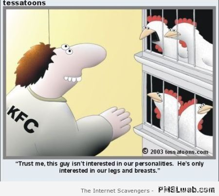 Funny KFC cartoon at PMSLweb.com