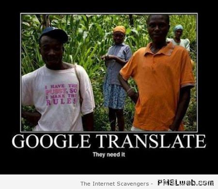 Google your t-shirt humor at PMSLweb.com