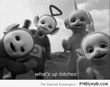 Funny teletubbies – Saturday madness at PMSLweb.com