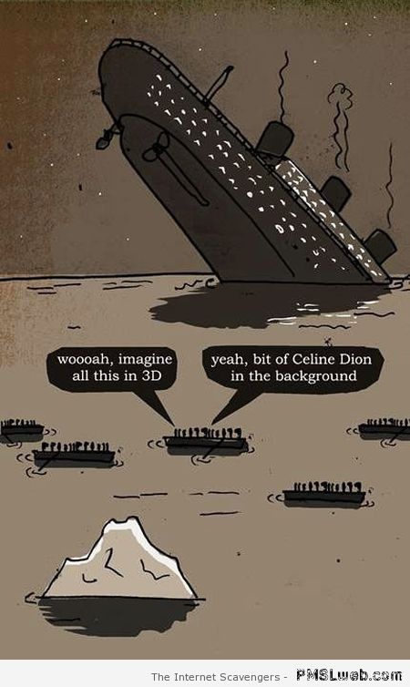 Funny Titanic cartoon at PMSLweb.com