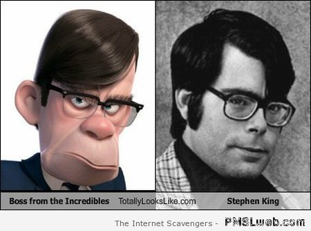 Stephen King is the boss of the Incredibles at PMSLweb.com