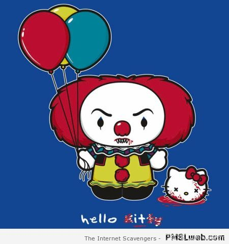 IT clown and hello kitty at PMSLweb.com